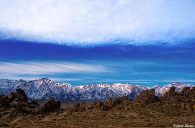 alabama hills, eastern california, sierras