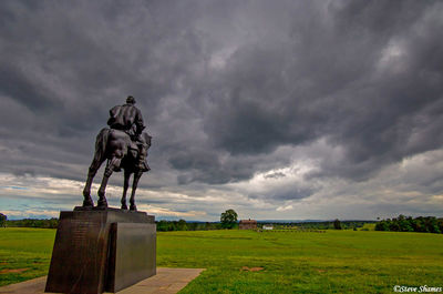 manassas national battlefield park, virginia, stonewall jackson statue