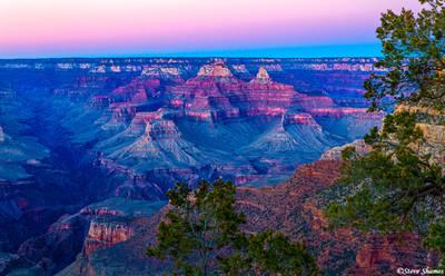 grand canyon, sunset, national park, arizona
