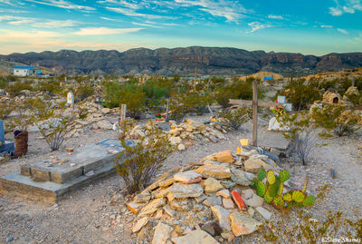 terlingua texas, cemetery, wild west