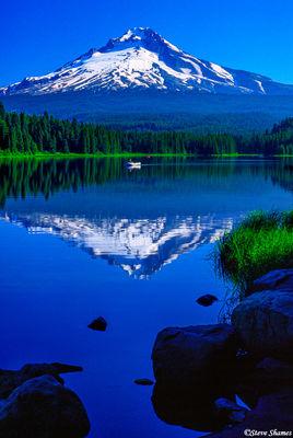 mt. hood, oregon, trillium lake