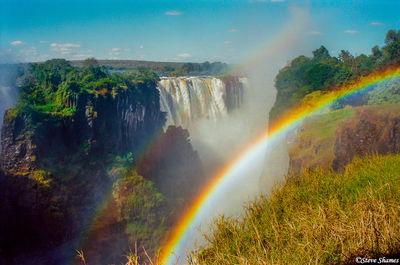 victoria falls, zimbabwe, the smoke that thunders