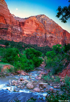 zion national park, utah, virgin river