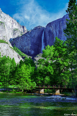 yosemite national park, upper falls