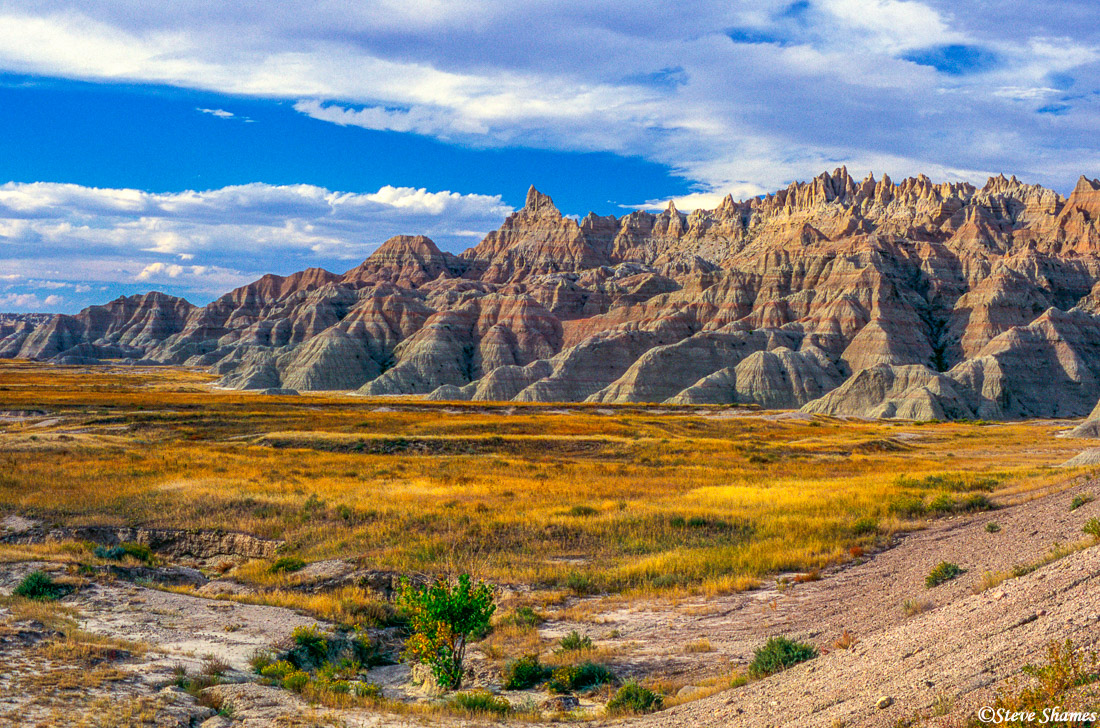 badlands national park, south dakota, great scenes, photo