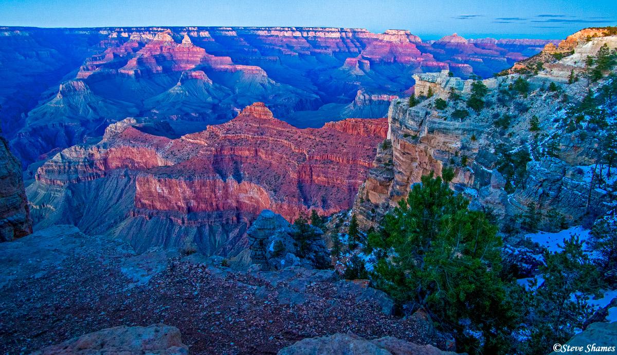grand canyon sunset, national parks, arizona, photo