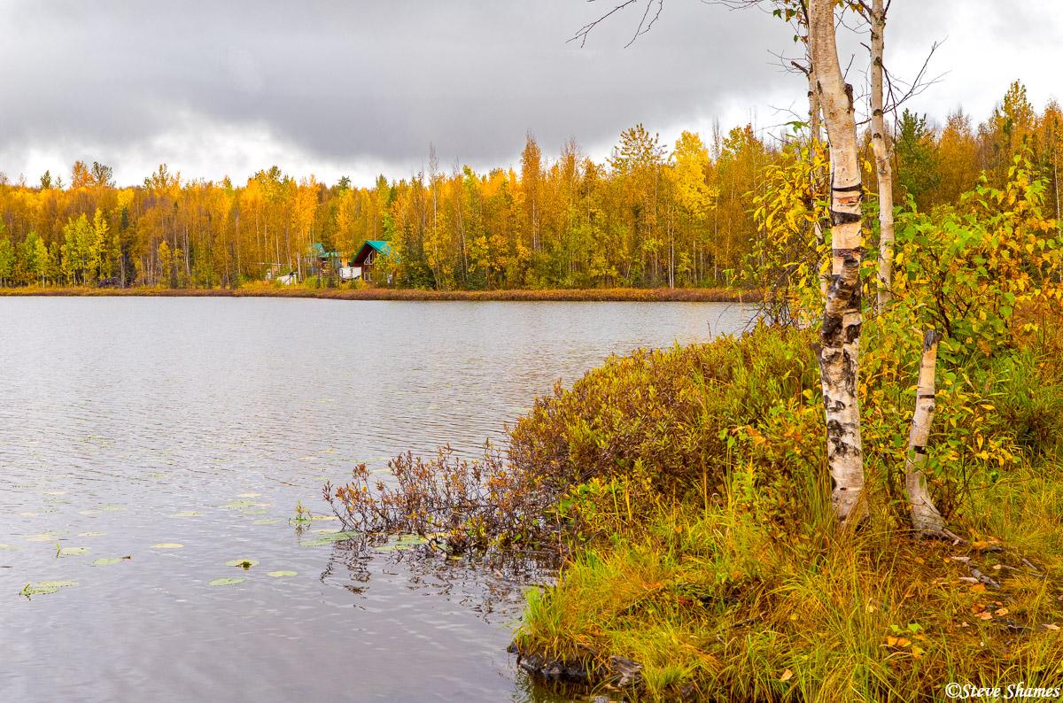alaska lake, anchorage, photo