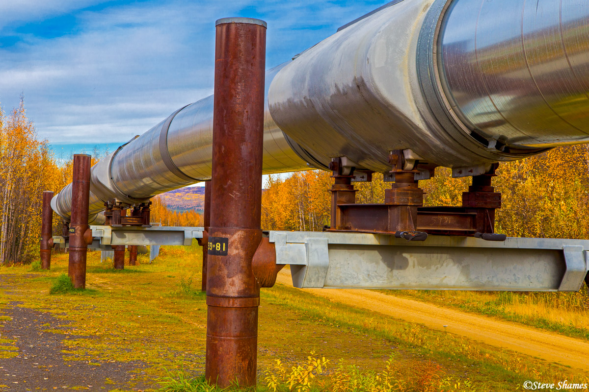 fairbanks, alaska pipeline, photo