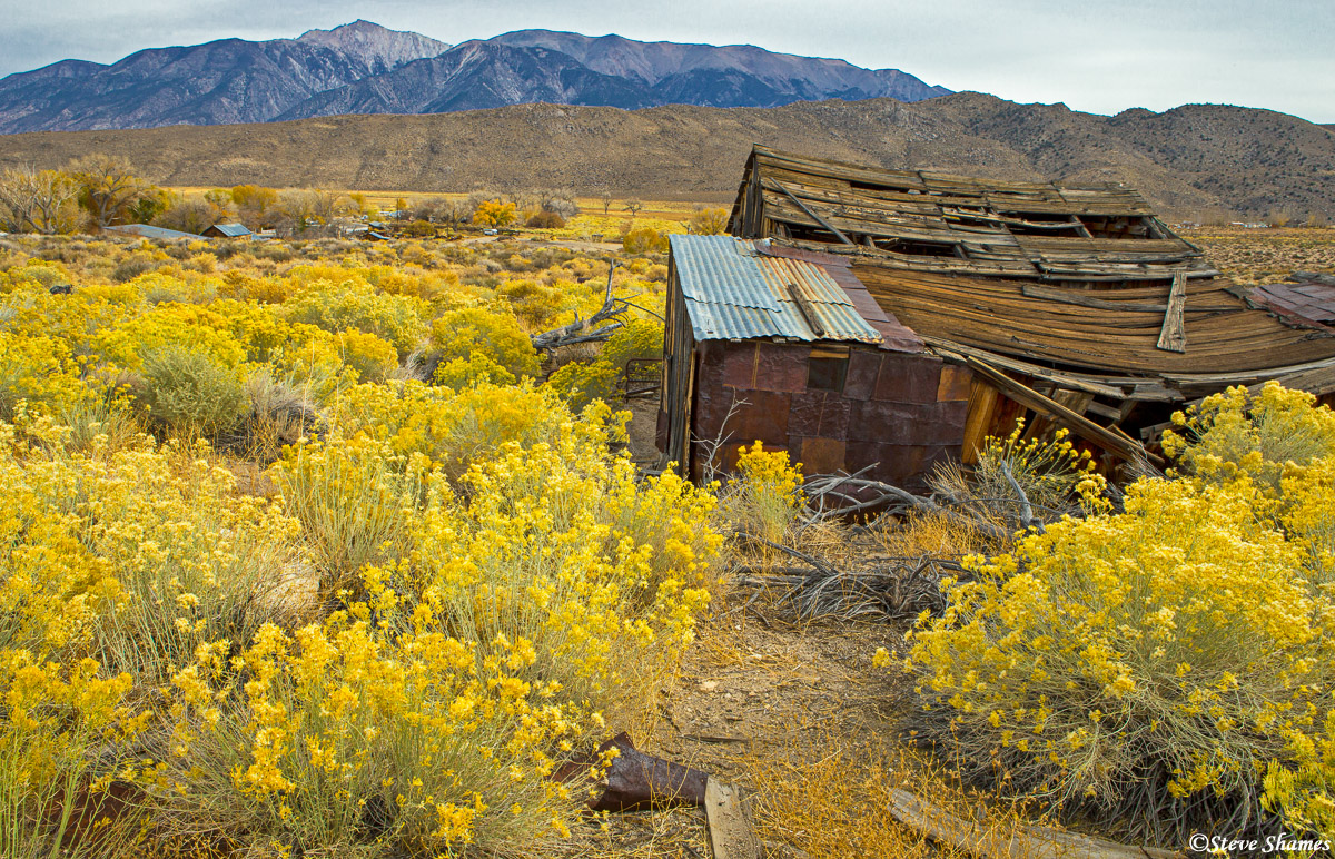 benton, eastern california, ghost town, mono lake, nevada border, photo