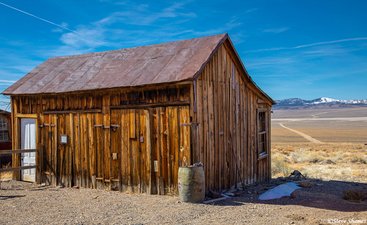 My favorite ghost town in Nevada -- Berlin. I was last here 21 years ago, during my black & white infrared film days. It hasn...