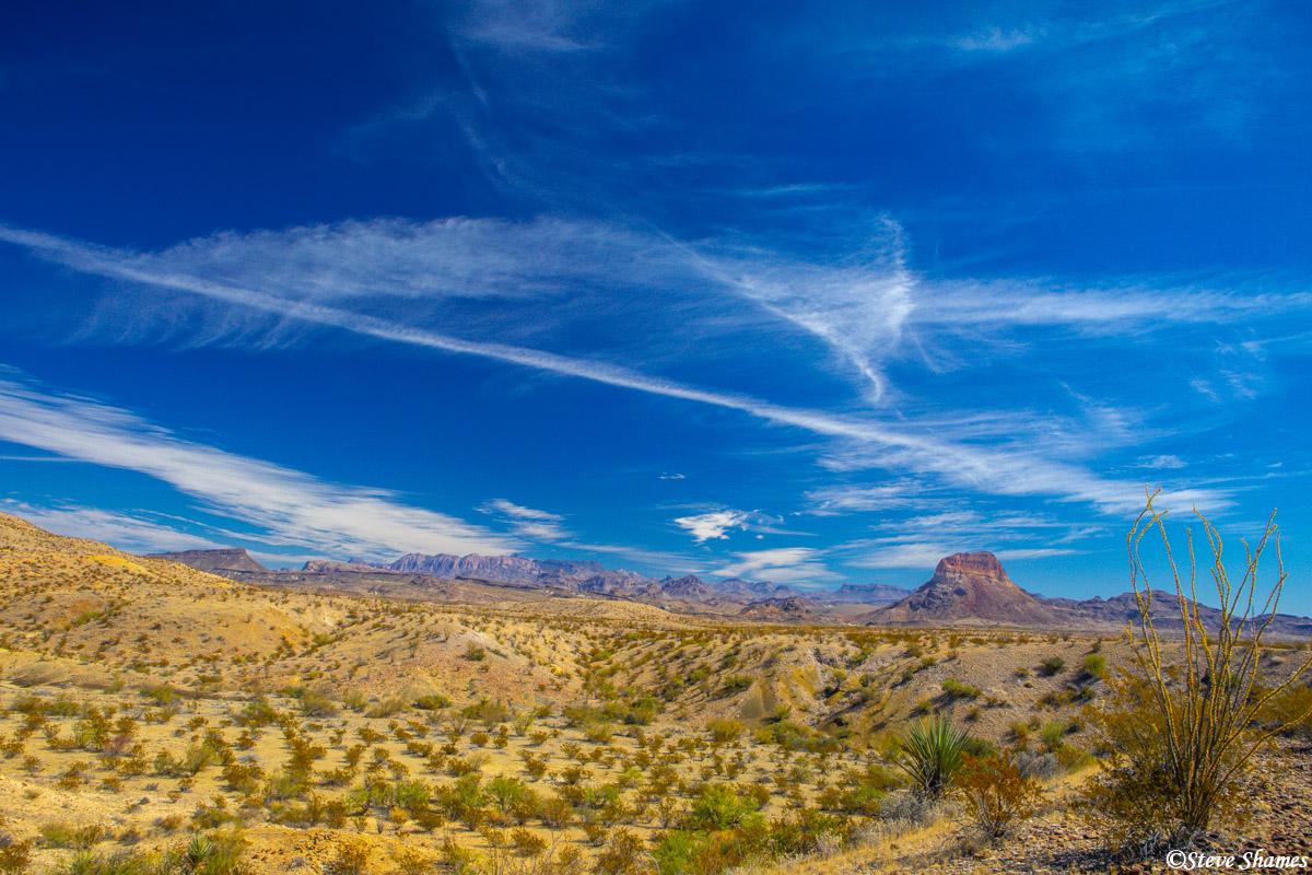 big bend national park, west texas, big sky, photo