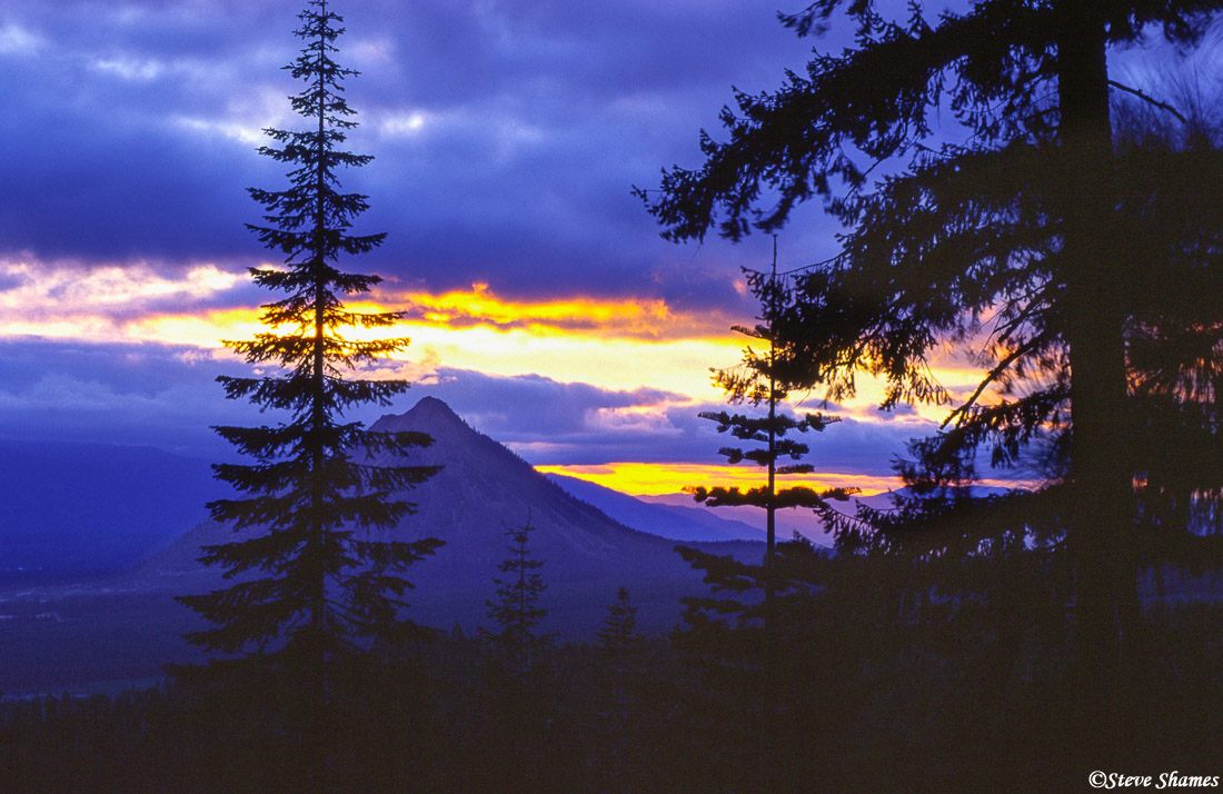 mt. shasta, northern california, black butte mountain, sunset, photo