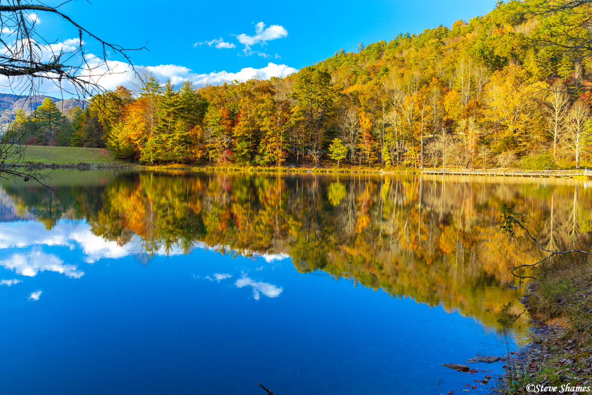 A nice reflection here at Black Rock Lake, nestled in the north Georgia mountains.