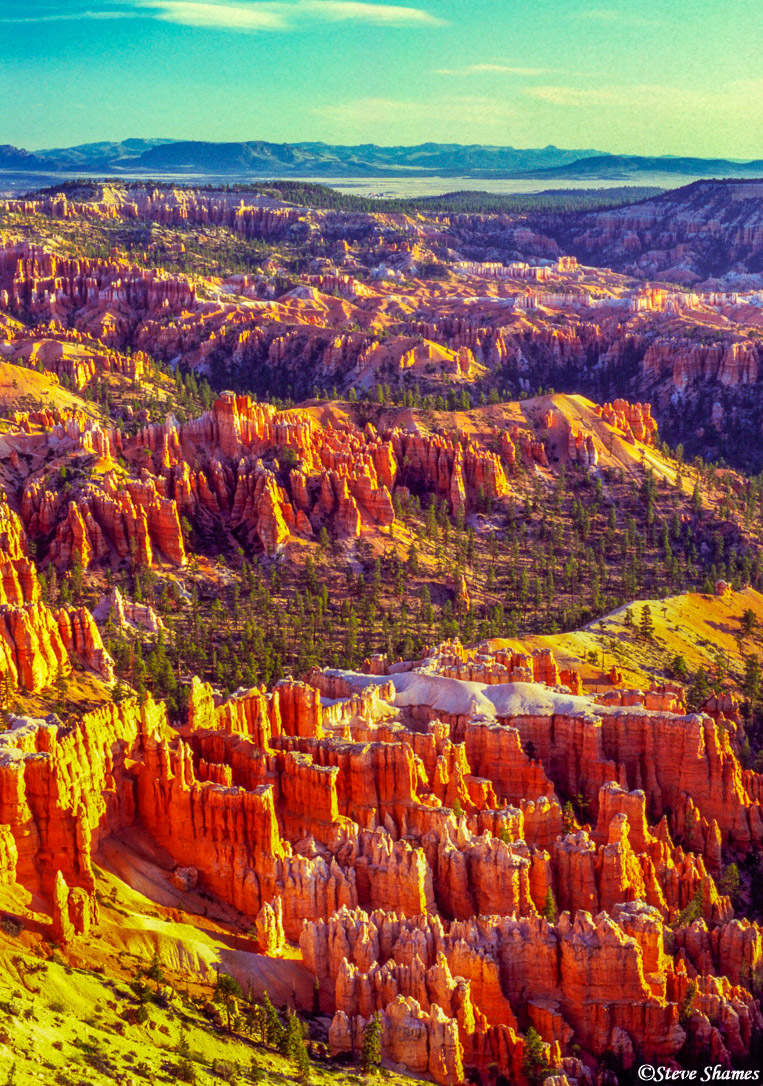 bryce canyon colors, national park, utah, photo