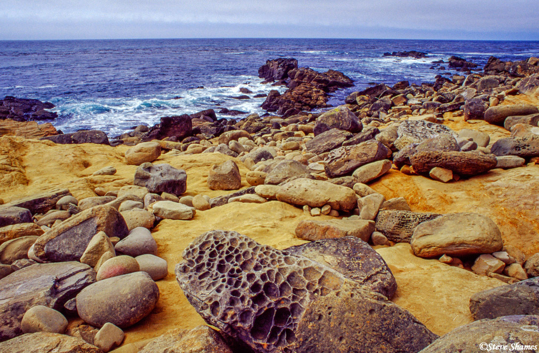 pacific ocean, rocky landscape, sonoma county, california, photo