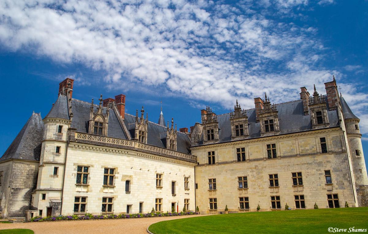 Château d'Amboise, loire valley, Leonardo da Vinci, tomb, photo