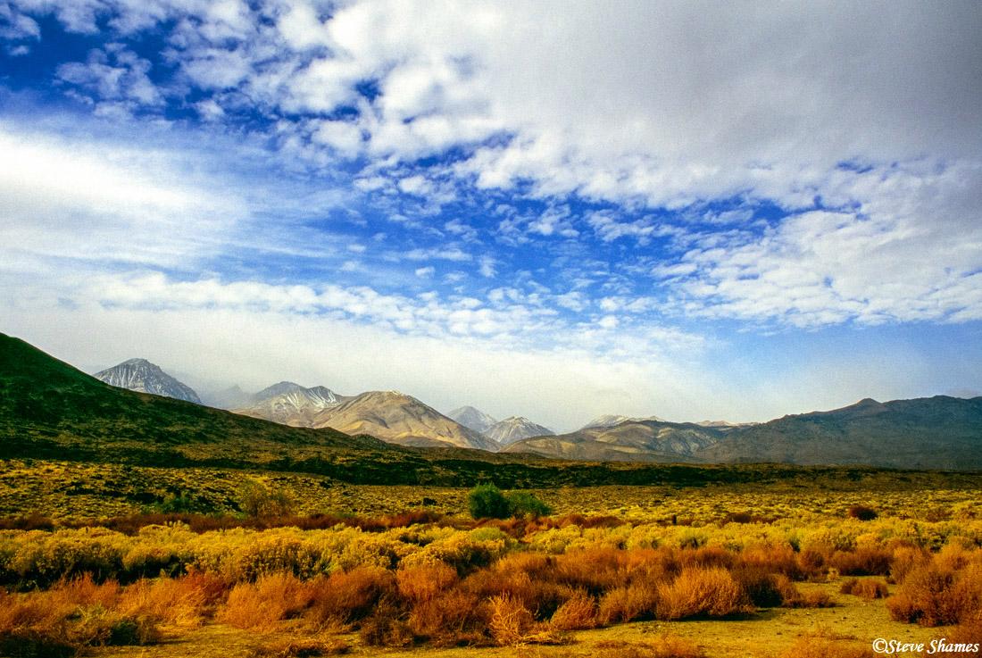 bishop, california, owens valley, sierras, photo