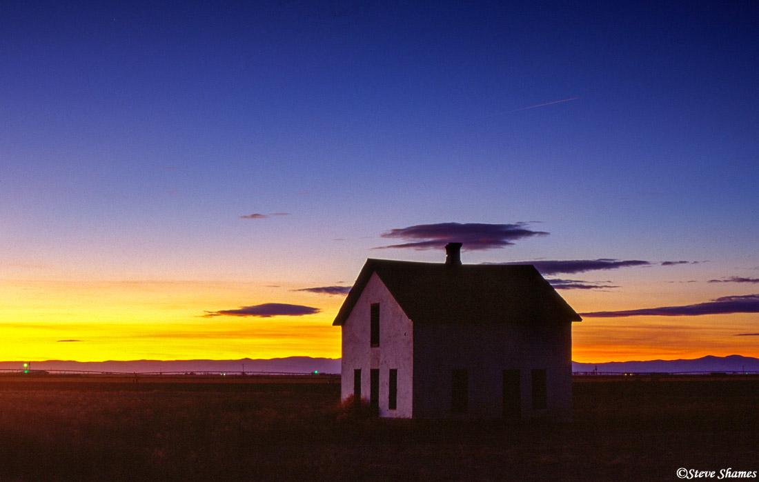 pawnee national grasslands, colorado sunset, photo