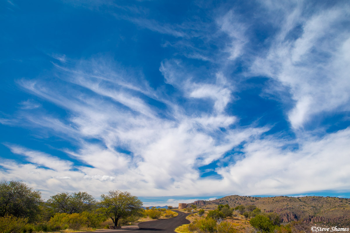 davis mountains state park, fort davis, west texas, big sky, photo