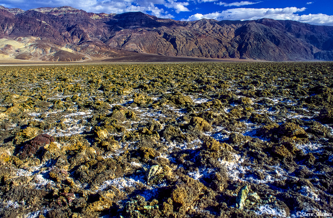 death valley national park, devils golf course, photo