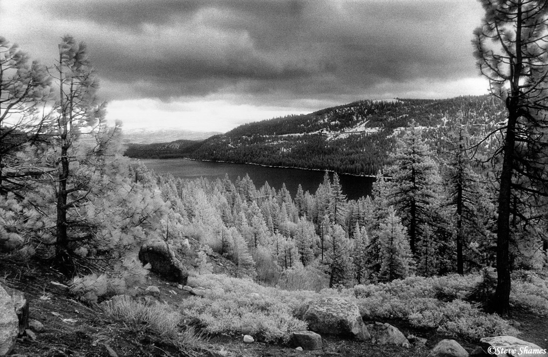 donner lake, high sierras, photo