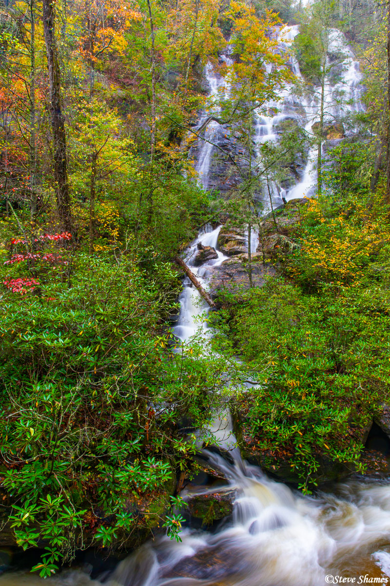 Dukes Creek Falls, it was quite a hike to get to it, but worth it.