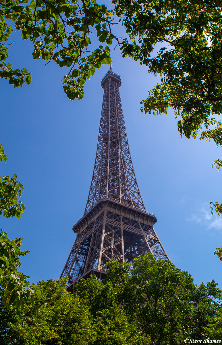 eiffel tower, paris, france, photo
