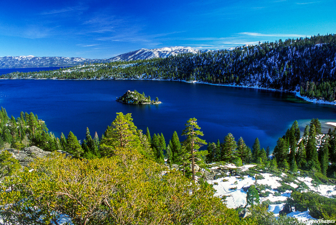 lake tahoe, emerald bay, fannette island, photo