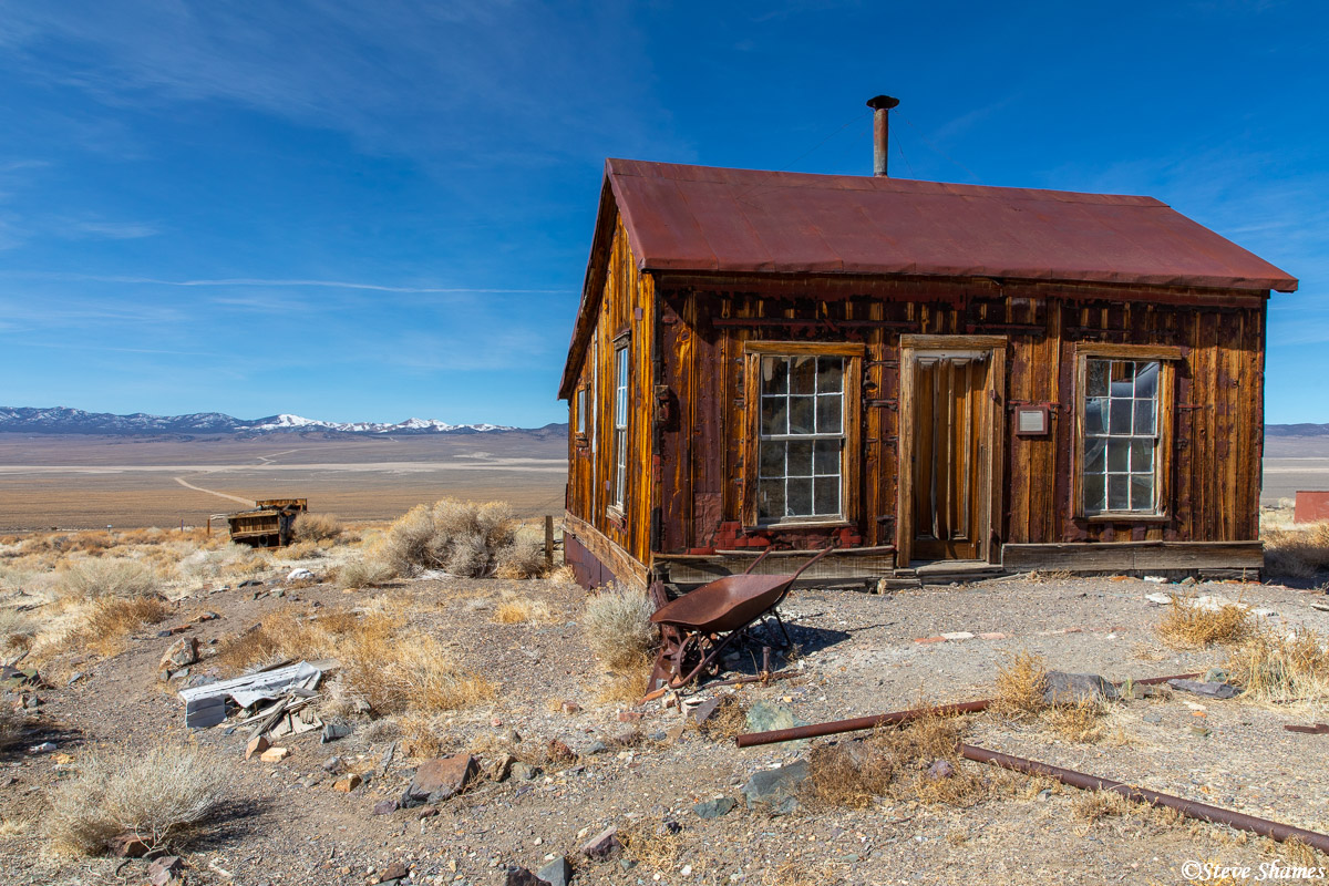 What life must have looked like in Berlin Nevada.