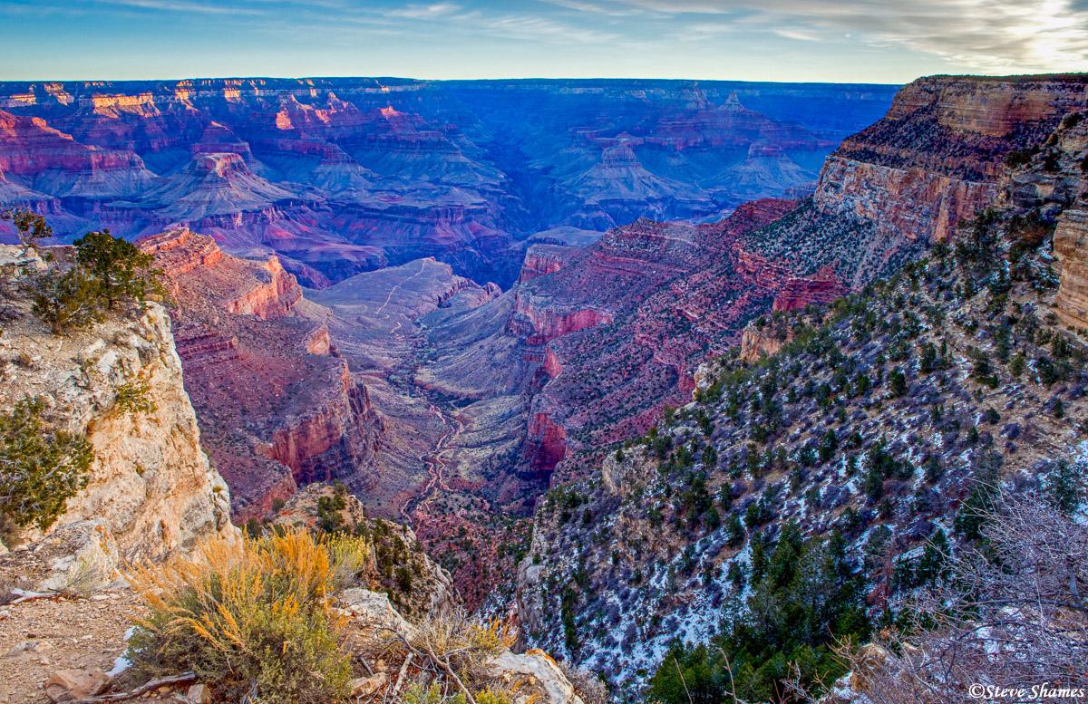 grand canyon, national park, arizona, sunrise, photo