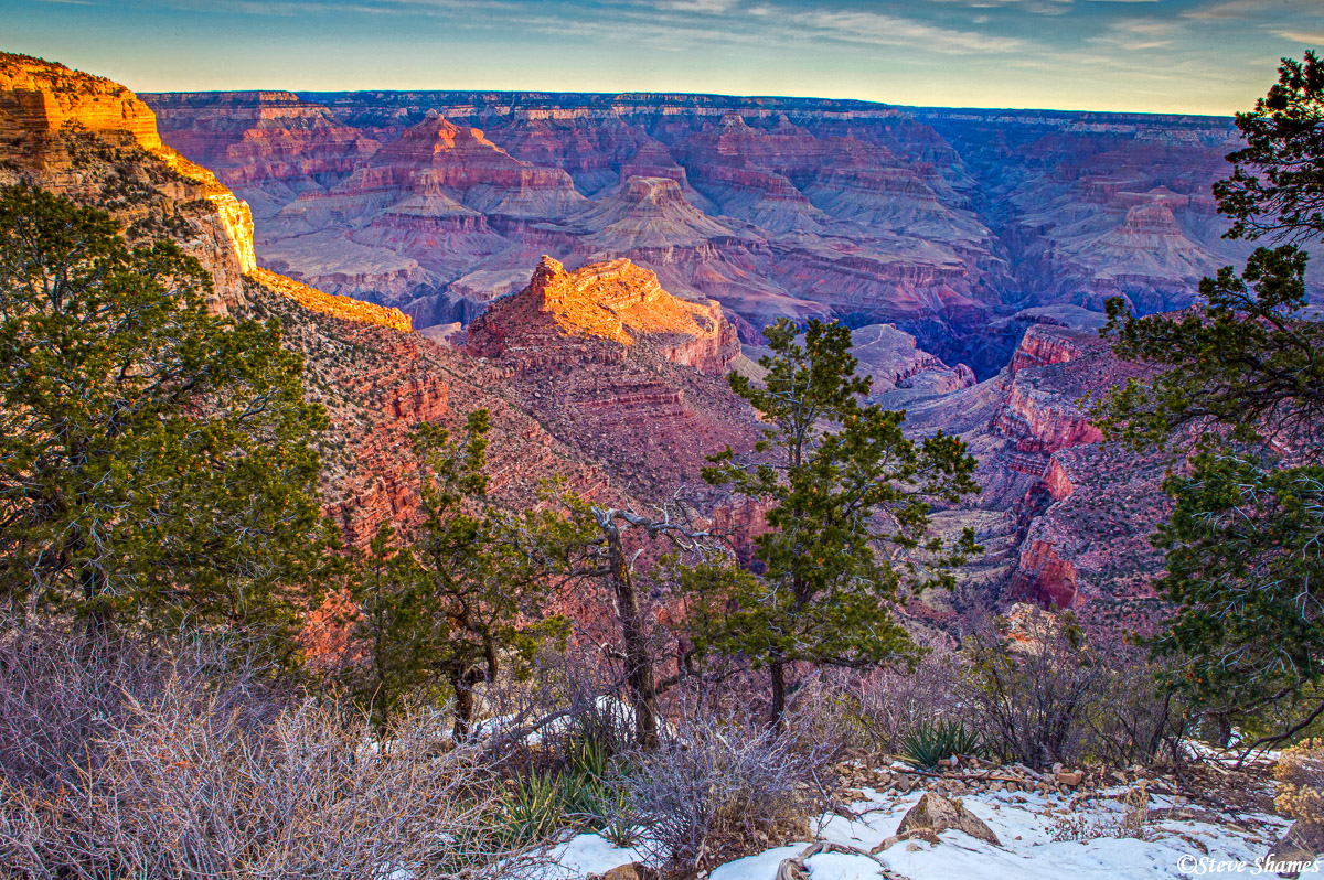 grand canyon national park, sunrise, arizona, photo