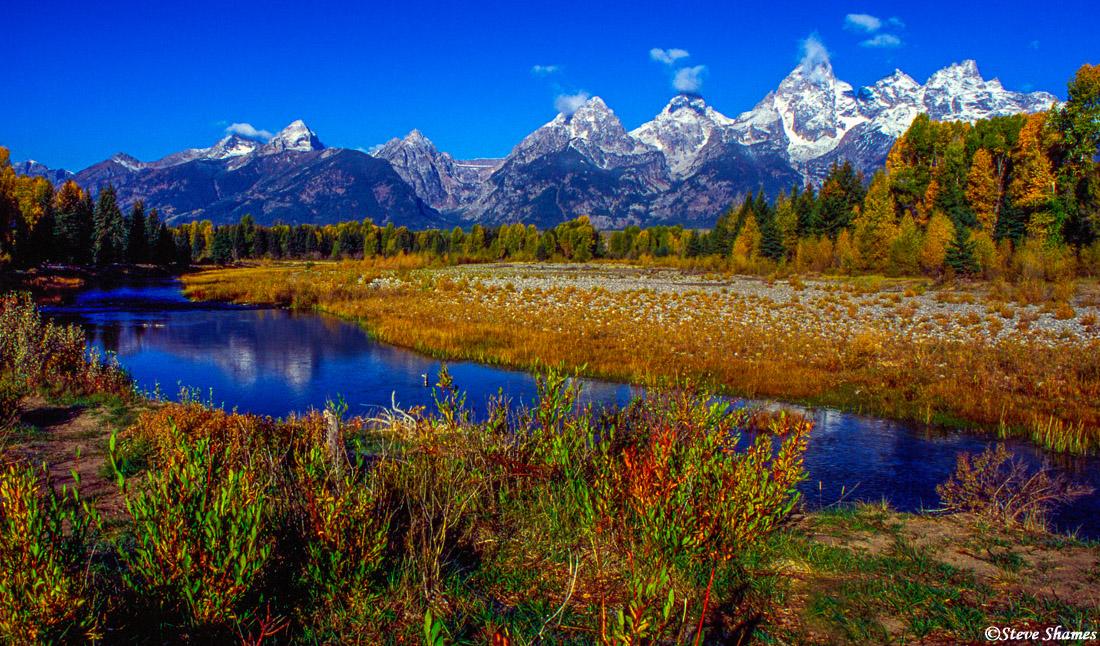 grand teton national park, wyoming, mountain ranges, photo