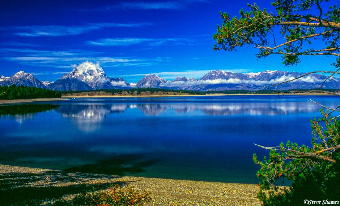grand tetons, national park, wyoming, jackson lake, photo