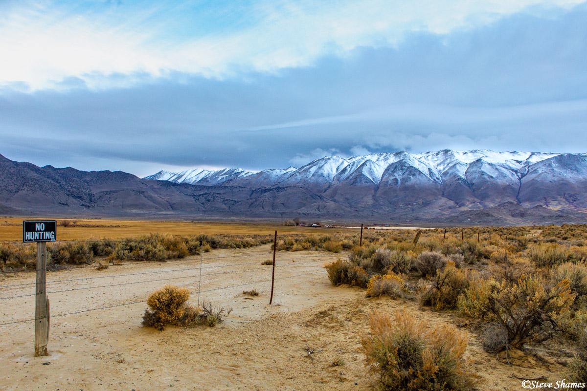 Granite Peak is the highest point in the Granite Range. This range is next to the Black Rock Desert.