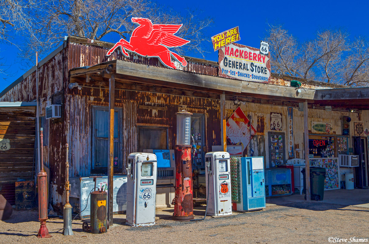 hackberry general store, route 66, arizona, photo