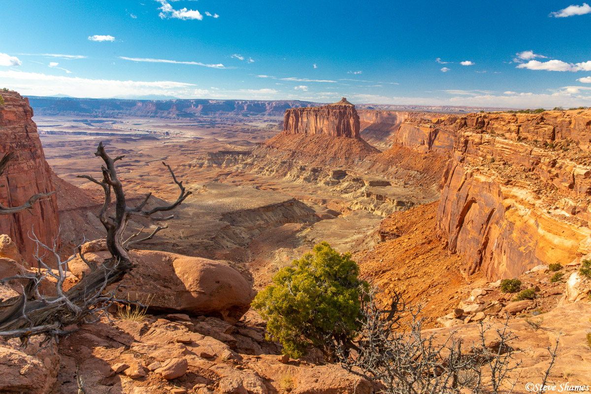 One of the vistas at Canyonlands - Holeman Spring Canyon overlook.