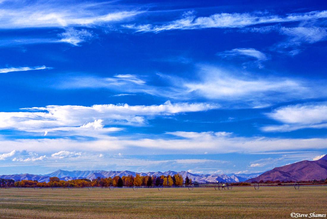 hailey, idaho, big sky country, photo