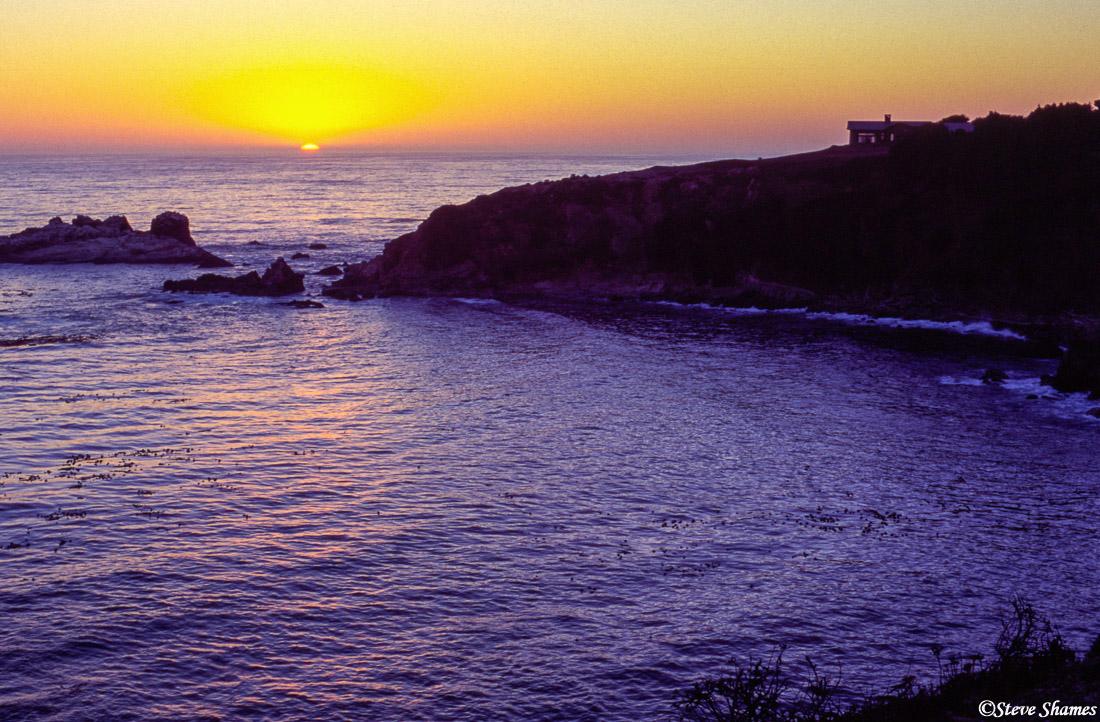 jennder beach, sunset, california, sonoma county, photo