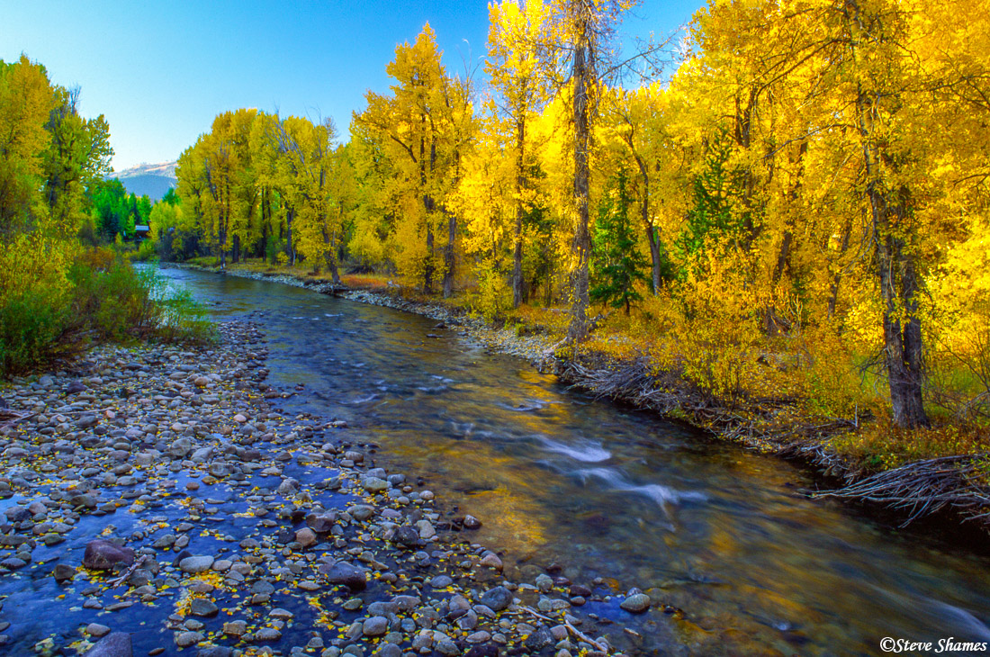 ketchum, idaho, creek, photo