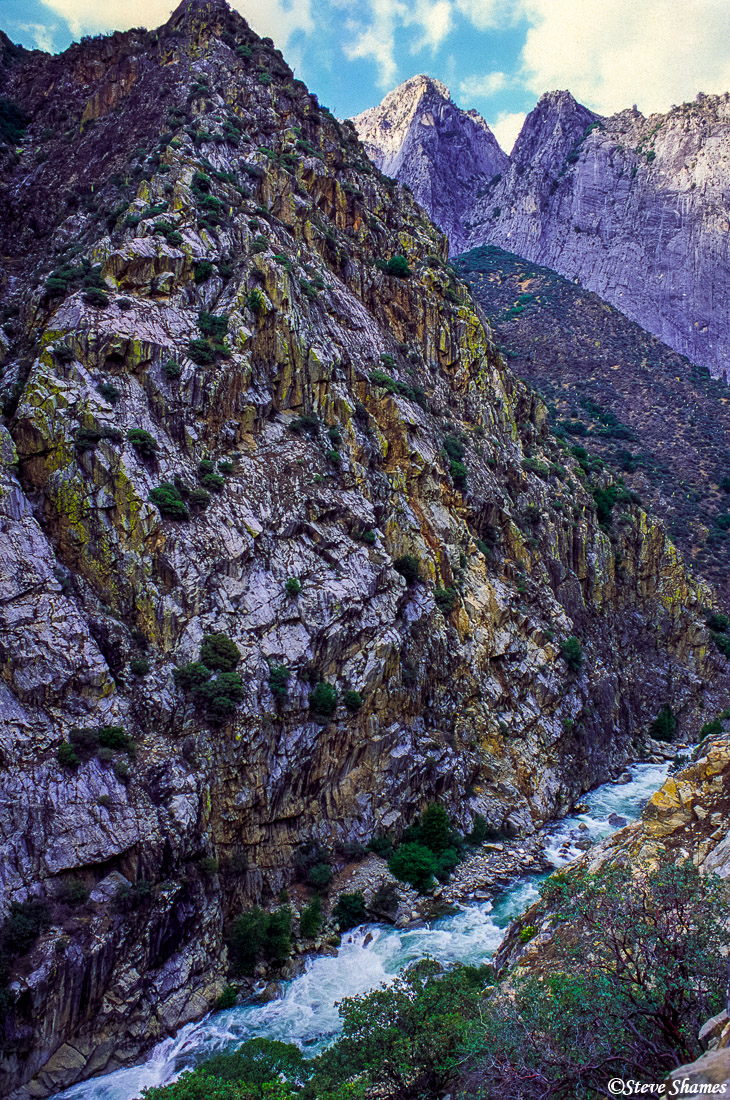 kings canyon, national park, rocky peaks, photo