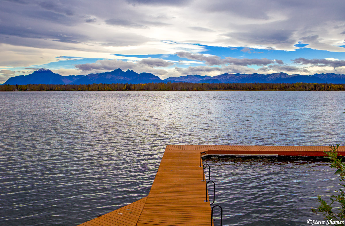 lake lucille, wasilla, alaska, photo