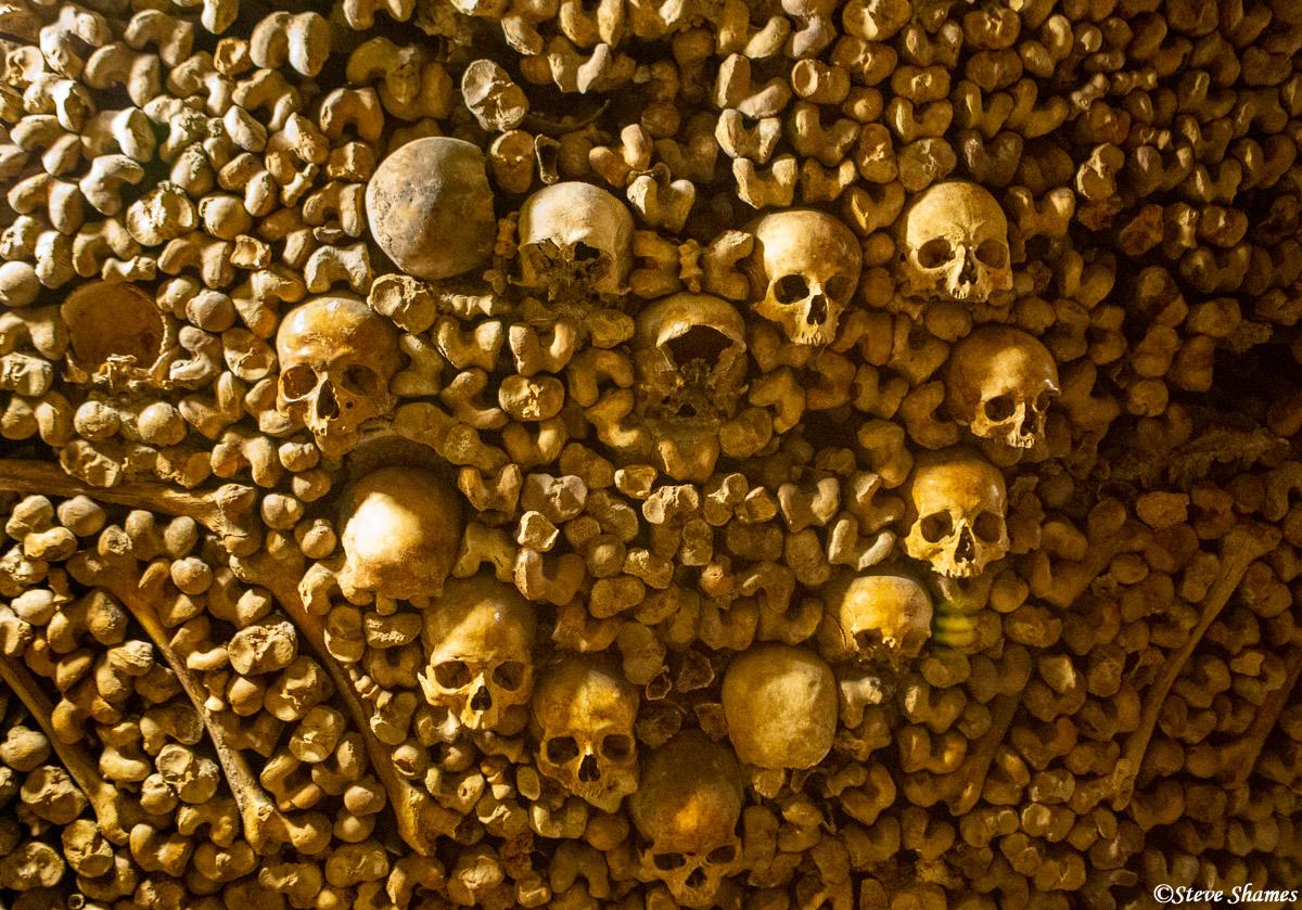 les catacombes, paris, france, photo