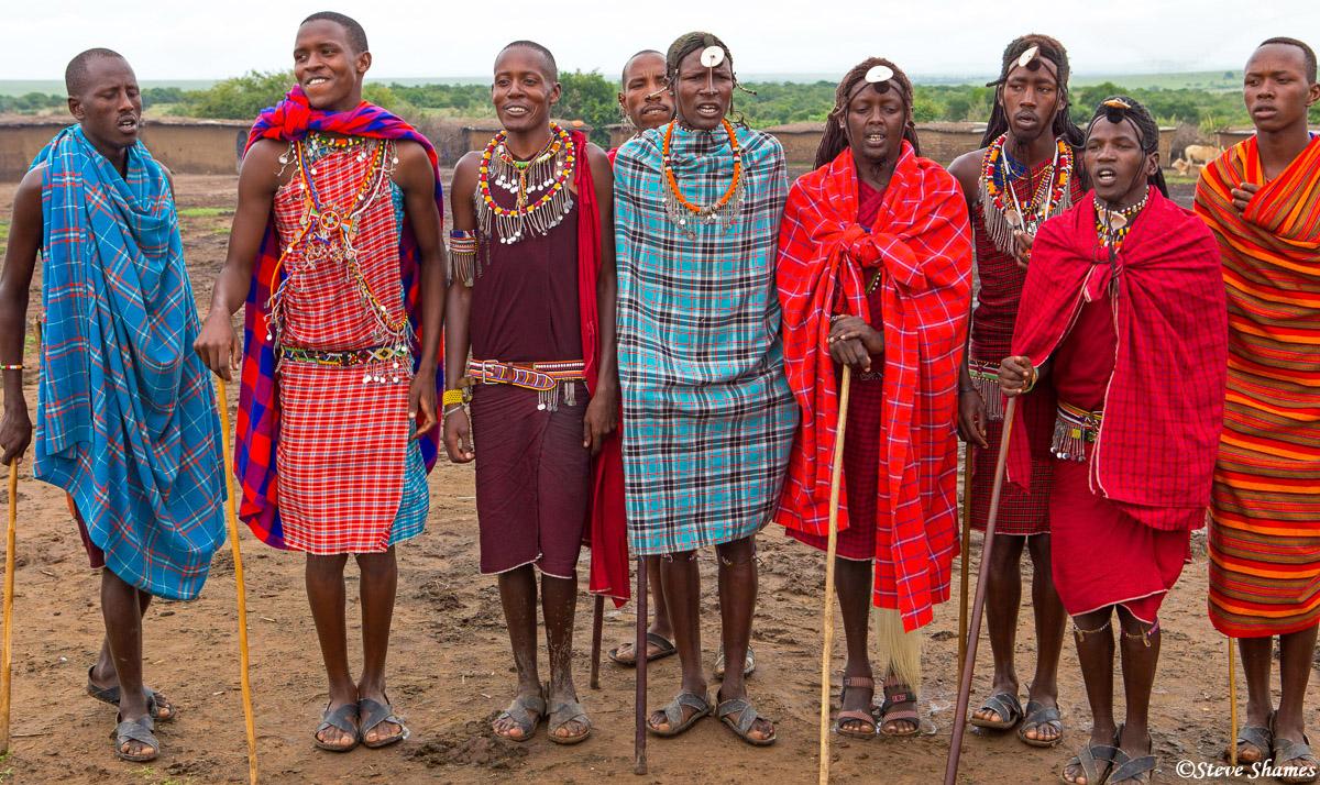 maasai village, kenya, , photo