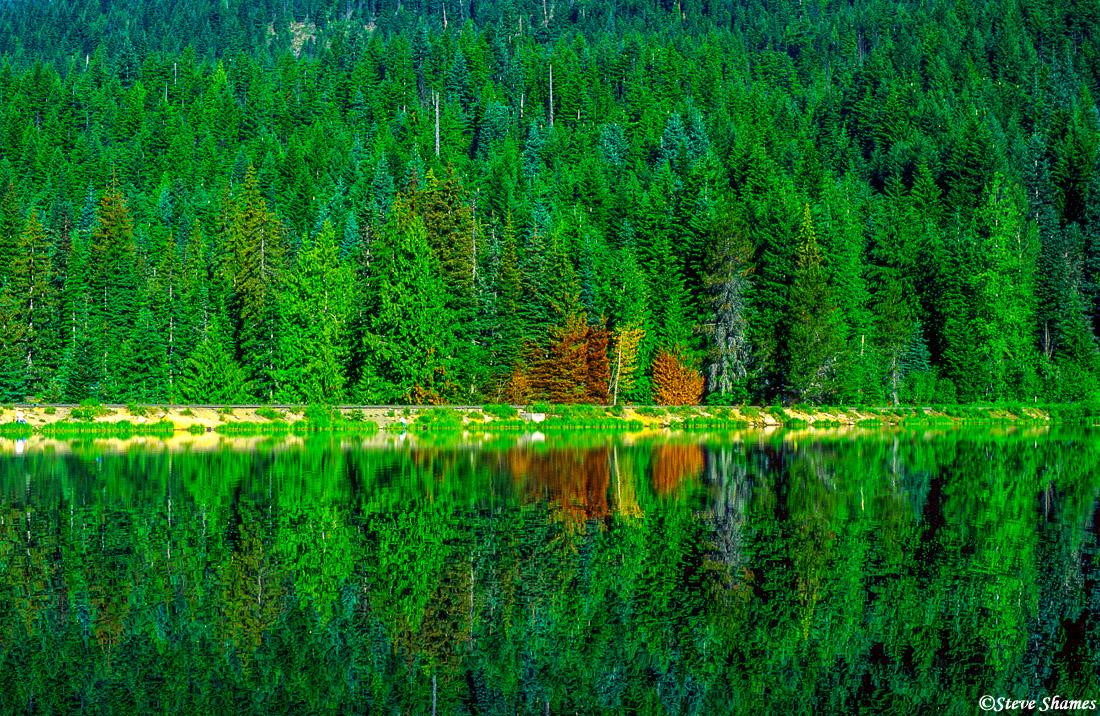 trillium lake, oregon, photo