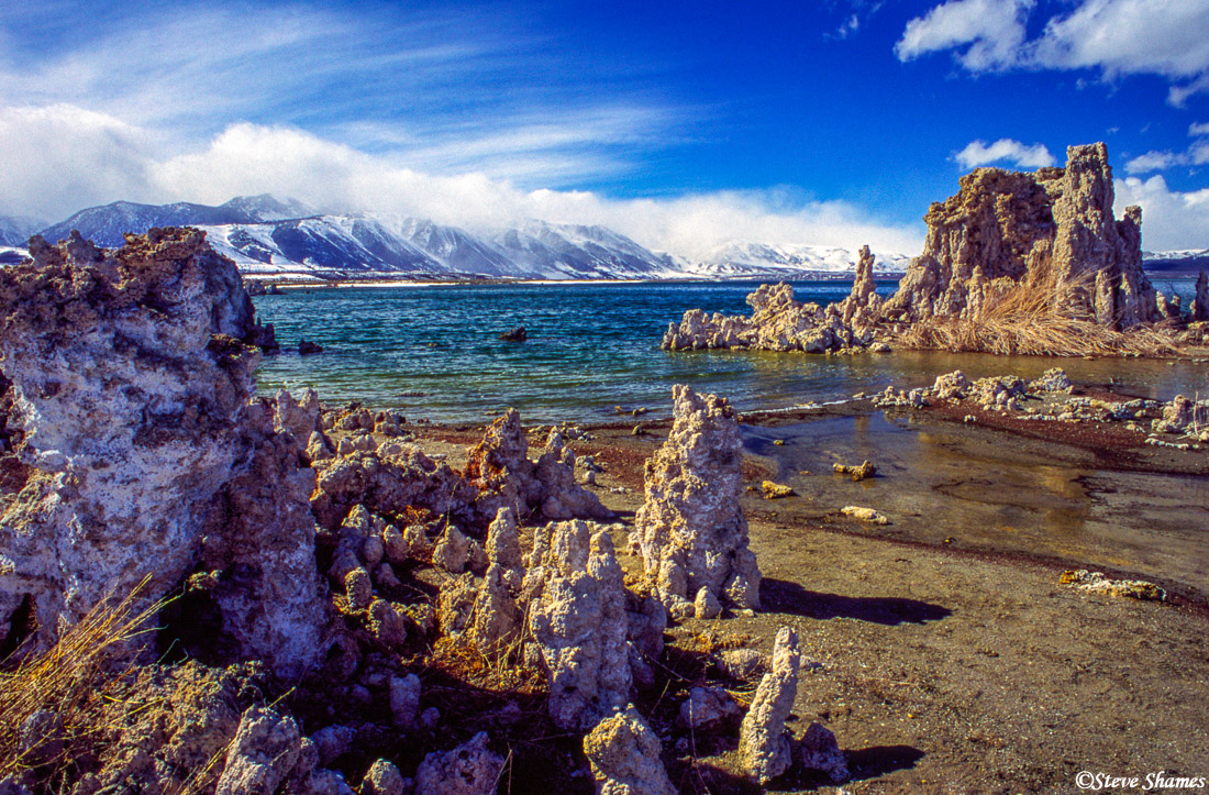 mono lake, california, photo