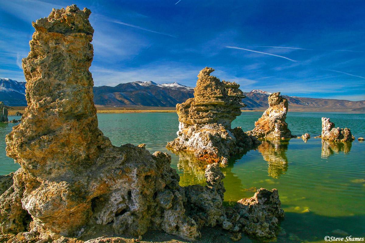 mono lake, california, tufas, photo