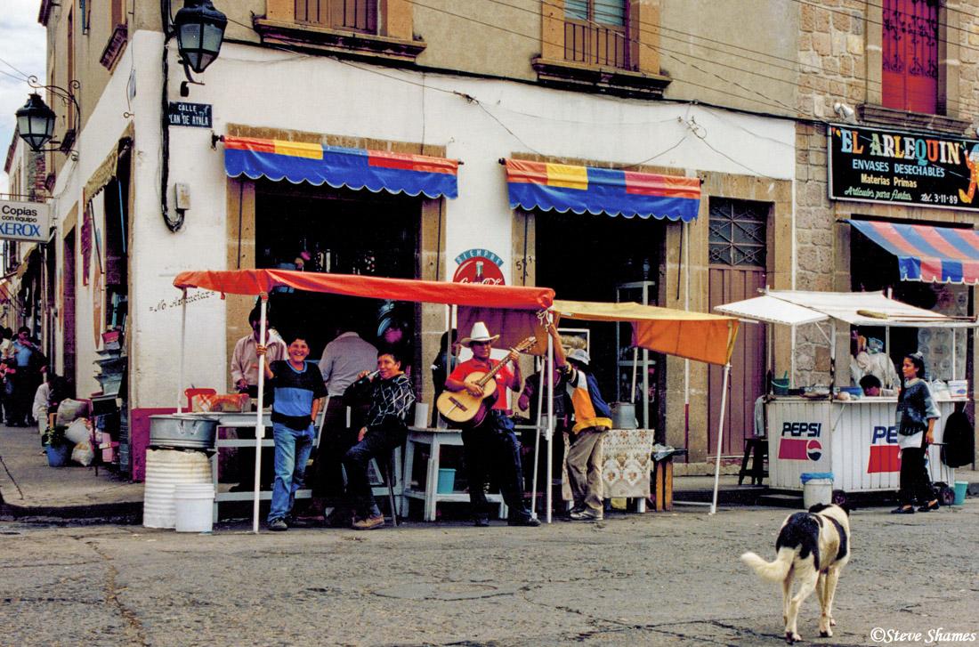 morelia, street scene, mexico, photo