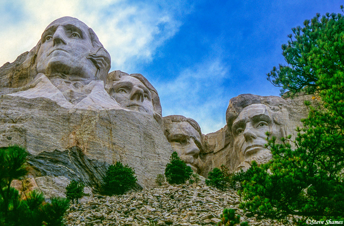 mount rushmore, south dakota, black hills, photo