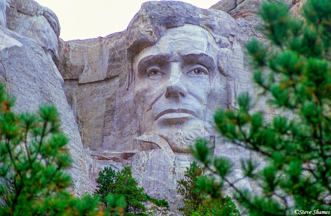 mount rushmore, south dakota, abraham lincoln, photo