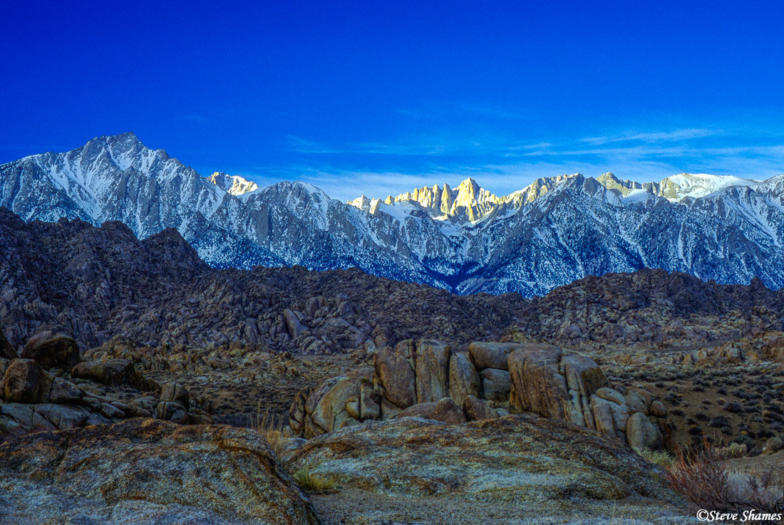 alabama hills, california, mt. whitney, highest point, photo